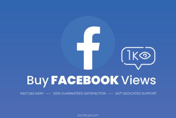 Buy Facebook Views