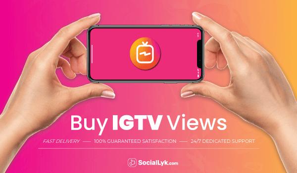 Buy IGTV Views