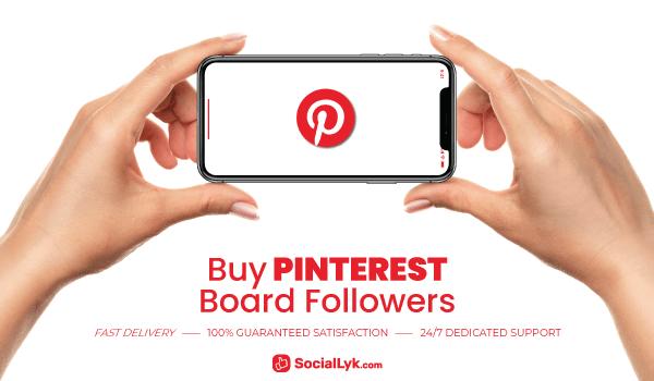 Buy Pinterest Board Followers