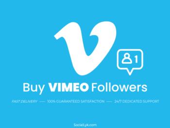 Buy Vimeo Followers