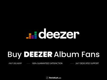 Buy Deezer Album Fans
