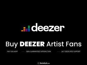 Buy Deezer Artist Fans