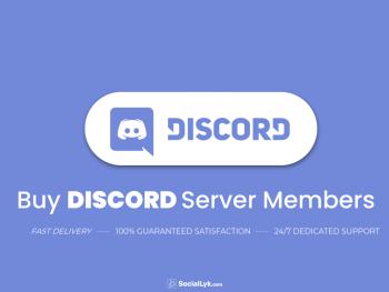 Buy DISCORD Server Members