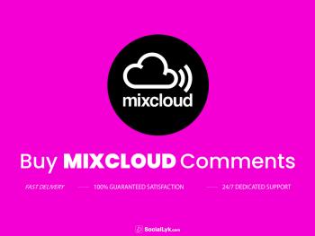 Buy Mixcloud Comments
