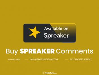 Buy Spreaker Comments