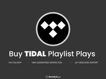 Buy Tidal Playlist Plays