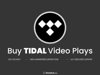 Buy Tidal Video Plays