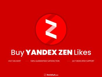 Buy Yandex Zen Likes
